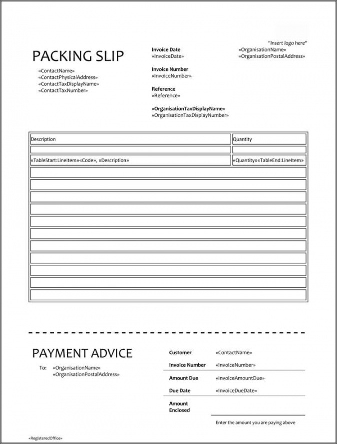 Free Commercial Packing List Template Excel Example