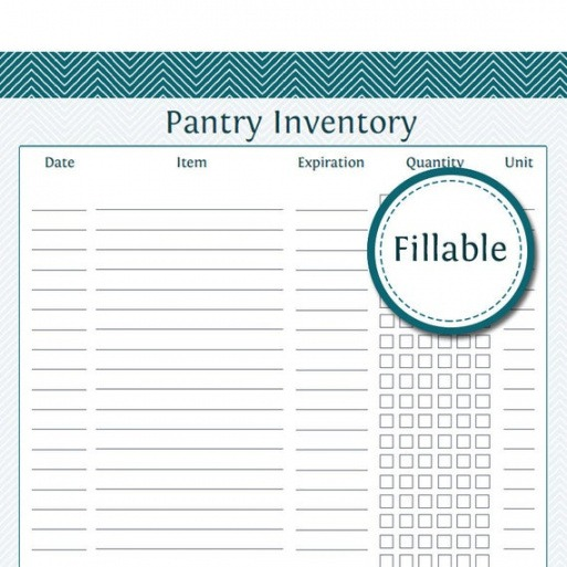 Free Kitchen Inventory List Template Doc Sample
