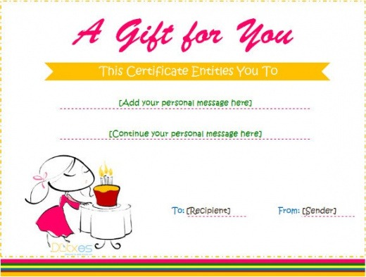 Best Birthday Gift List Template Word Example