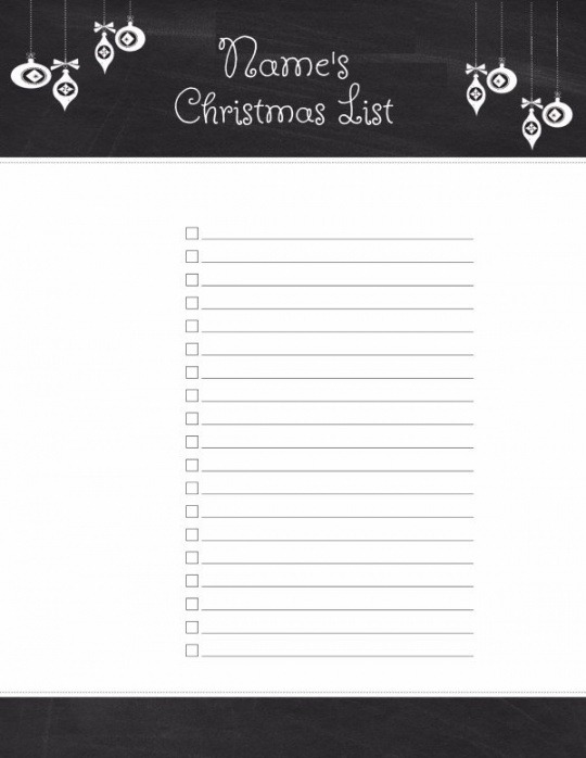 Best House Wish List Template Excel