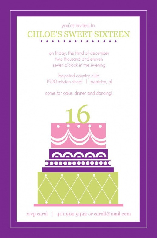 Costum Sweet 16 Guest List Template Excel Example